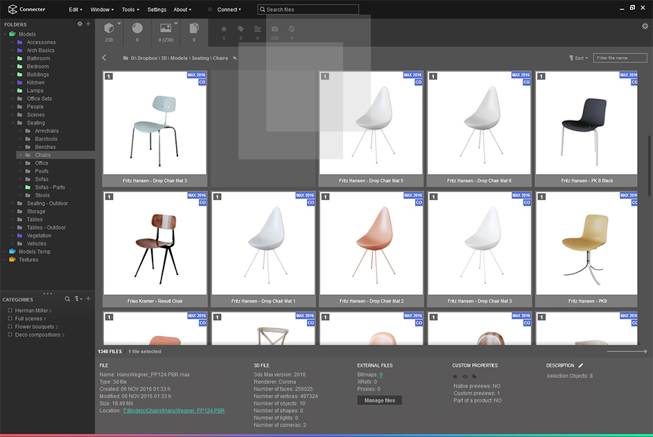 FREE DIGITAL ASSETS MANAGEMENT FOR 3D ARTISTS